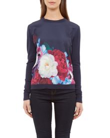Ted Baker Islii Blushing Bouquet jumper