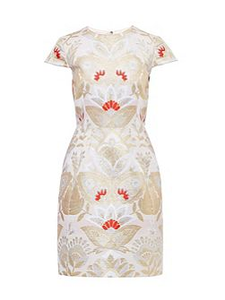 Islaay Opulent Orient tulip dress