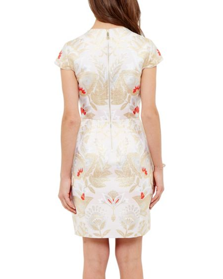 Ted Baker Islaay Opulent Orient tulip dress
