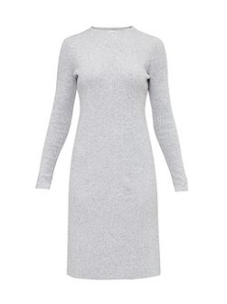 Pennih Knitted cashmere-blend midi dress