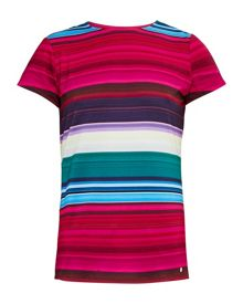 Ted Baker Itrsti Striped fitted T-shirt