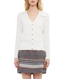 Ted Baker Bevie Bow Cashmere-blend Cardigan