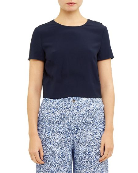 Ted Baker Kyna Cross back cropped top