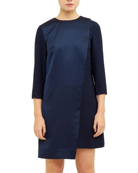 Ted Baker Maon Asymmetric shift dress