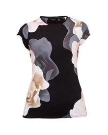Ted Baker Tarlia Porcelain Rose fitted T-shirt