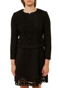 Ted Baker Qutee Bouclé Bow Jacket