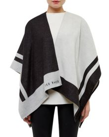 Ted Baker Amelya Colour block cape