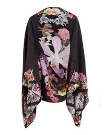 Ted Baker Lahna Lost Gardens silk cape scarf