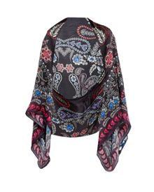 Ted Baker Talliah Treasured Trinkets silk cape scarf