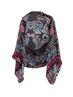 Talliah Treasured Trinkets silk cape scarf