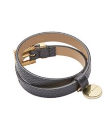 Ted Baker Arabela Double wrap leather bracelet
