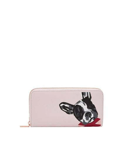 Ted Baker Marlyni Cotton Dog leather matinee purse