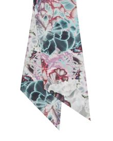 Ted Baker Inia Illuminated Bloom skinny scarf