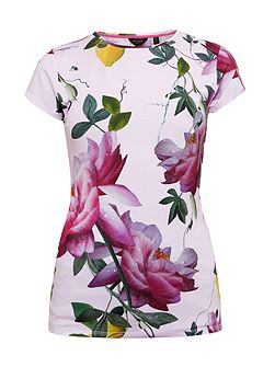 Alicie Citrus Bloom Fitted T-Shirt