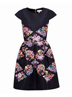 Girley Lost Gardens skater dress