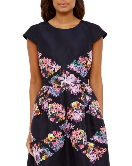 Ted Baker Girley Lost Gardens skater dress