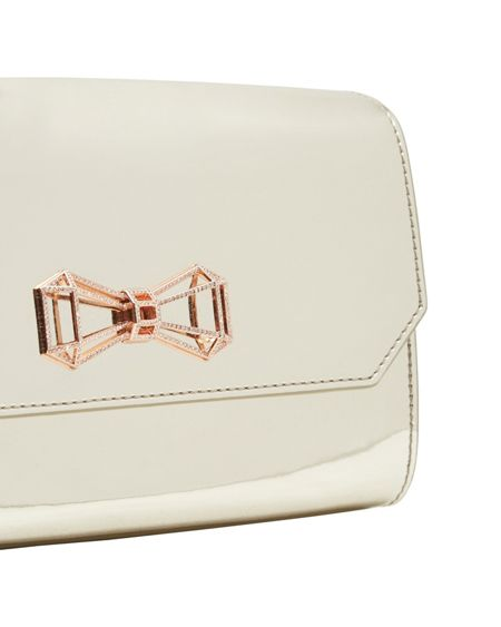 Ted Baker Cheri Embellished Geometric Bow Crossbody Bag