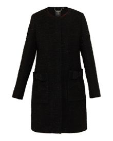 Ted Baker Tenzin Bouclé Bow Detail Coat