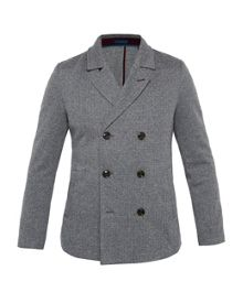 Ted Baker Herringbone design Jersey Coat