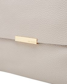 Ted Baker Proter Textured Leather Shoulder Bag