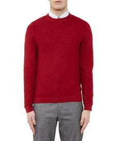 Ted Baker Marlin Textured Crew Neck Jumper