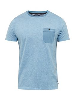 Motor Mouliné Cotton Crew Neck T-Shirt