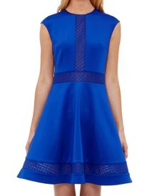Ted Baker Glorry Mesh Detail Full Dress