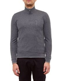 Ted Baker Sons Textured Crew Neck Jumper
