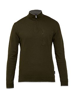 Sons Textured Crew Neck Jumper