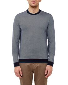 Ted Baker Jax Crew Neck Cotton Jumper