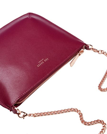 Ted Baker Nara Leather Cross Body Bag