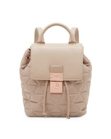 Ted Baker Gaile Quilted luggage lock leather backpack