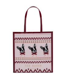 Ted Baker Dolcon Fairisle dog large shopper bag
