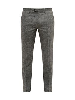 Cramtro Herringbone Wool Trousers