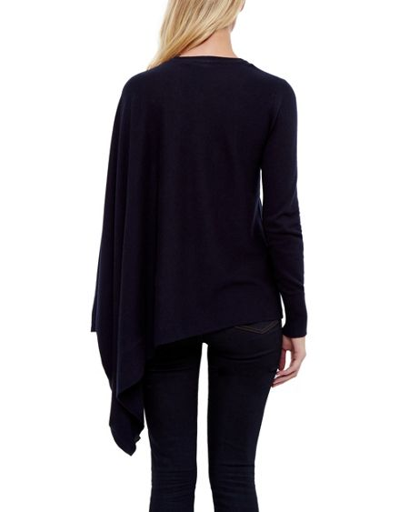 Ted Baker Janila Asymmetric Draped Jumper