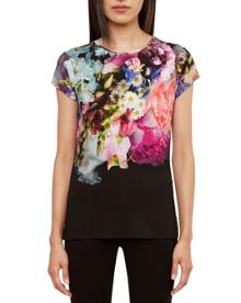 Ted Baker Casheen Focus Bouquet Fitted T-Shirt