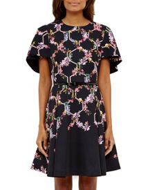 Ted Baker Vianna Lost Gardens A-line dress