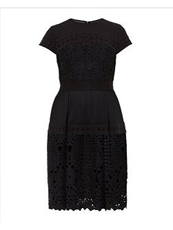 Jamisen Layered Lace Dress