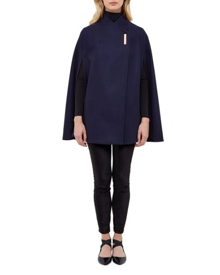 Ted Baker Aillaa Wrap Over Cape