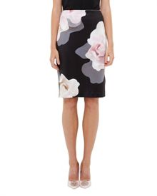 Ted Baker Kanara Porcelain Rose Pencil Skirt