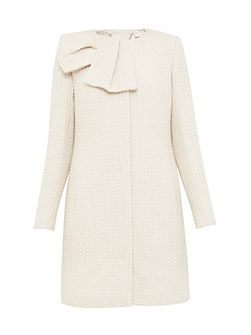 Elmina Large bow coat