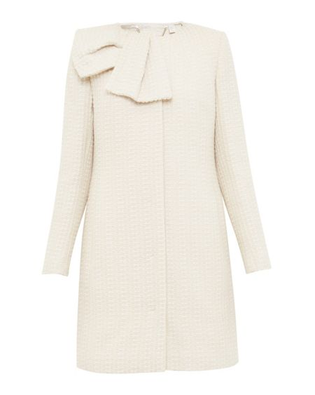 Ted Baker Elmina Large bow coat