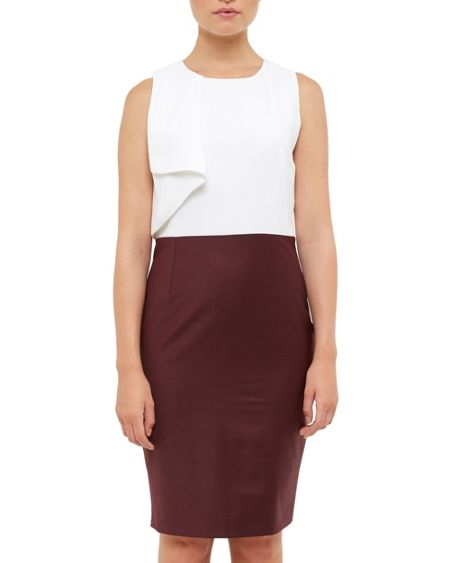 Ted Baker Careei Frilled Pencil Dress