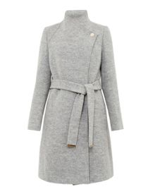 Ted Baker Safiera Textured Long Wrap Coat