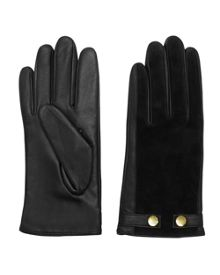 Ted Baker Sue Suede and leather gloves