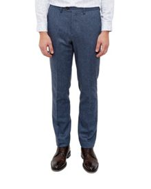 Ted Baker Cramtro Herringbone Wool Trousers