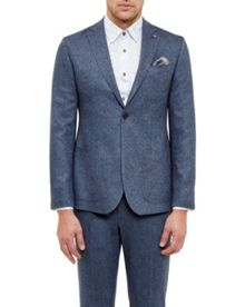 Ted Baker Cram Herringbone Wool Jacket