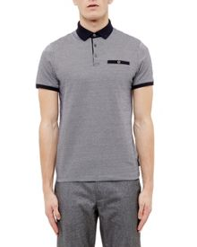 Ted Baker Morrow Jacquard Polo Shirt