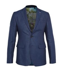 Ted Baker Malibu Linen And Cotton-Blend Blazer