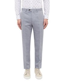 Ted Baker Maltro Linen-Blend Suit Trousers